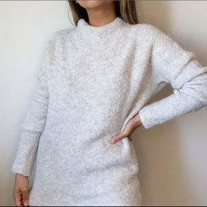 Lord & Taylor grey pullover sweater